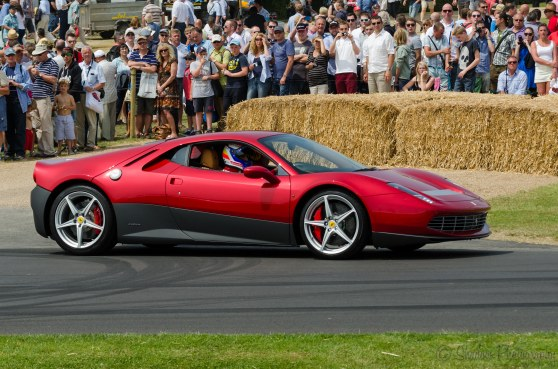 Eric Clapton Ferrari SP12
