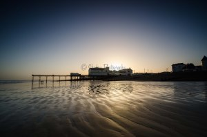Bognor Pier at Sunset
