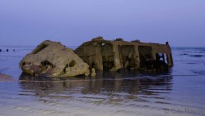 Bognor Beach - Piece of the Mulberry Harbour