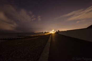 Butlins at night
