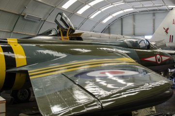 English Electric Lightening F53 & Hawker Hunter F.5