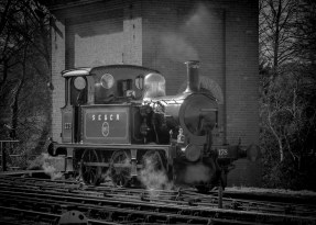 South Eastern and Chatham Railway P class No. 178 - Bluebell Rai