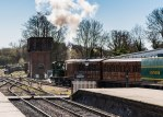 A beautiful spring day - Bluebell Railway