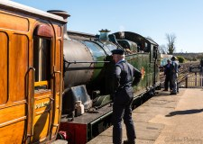 Working on the Bluebell Railway