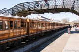 Metropolitan Line Coaches - Bluebell railway