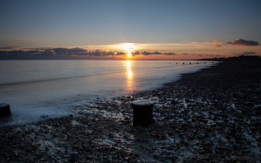 Sunset over Selsey