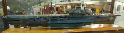 Model of HMS Indomitable