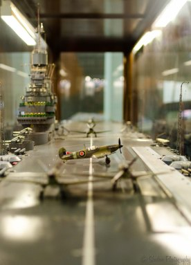 model of HMS Indomitable