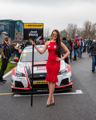 BTCC Grid Ladies